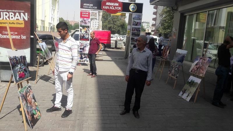 Bismil Belediyesi  Arakan Zulmüne Duyarsız Kalmadı