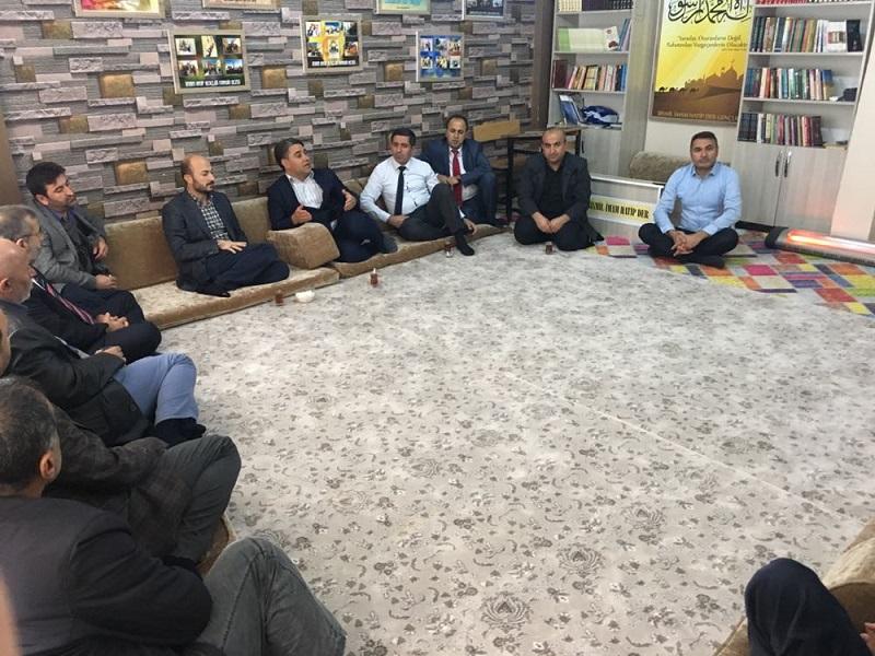 Bismil Milli Eğitim Müdürü AK'tan BİSTK'e Ziyaret