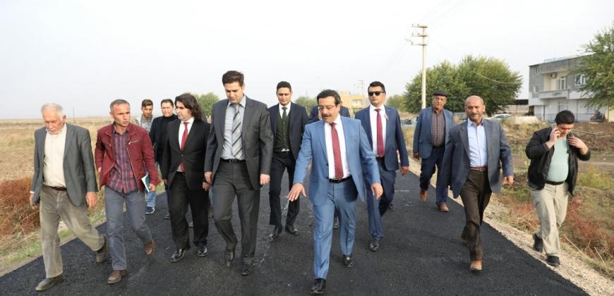 Diyarbakır Büyükşehir Belediye Başkanı Atilla'dan Bismil'e Ziyaret
