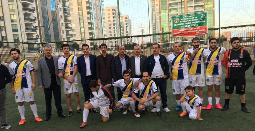 Kuyumcuların Futbol Turnuvasında Bismil Kazandı.