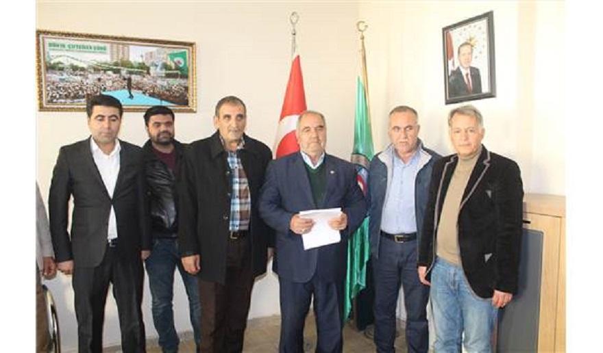 Bismil Ziraat Odasından Abd'nin Kudüs Kararına Sert Tepki