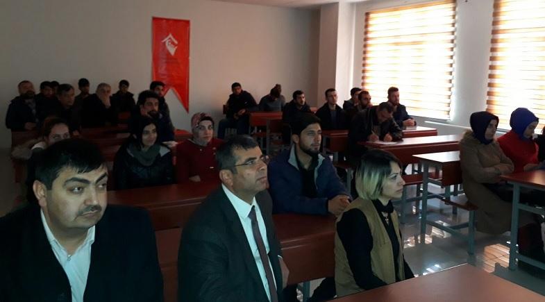 """Bismil SHM """"Kadına Yönelik Şiddet"""" semineri verdi"""