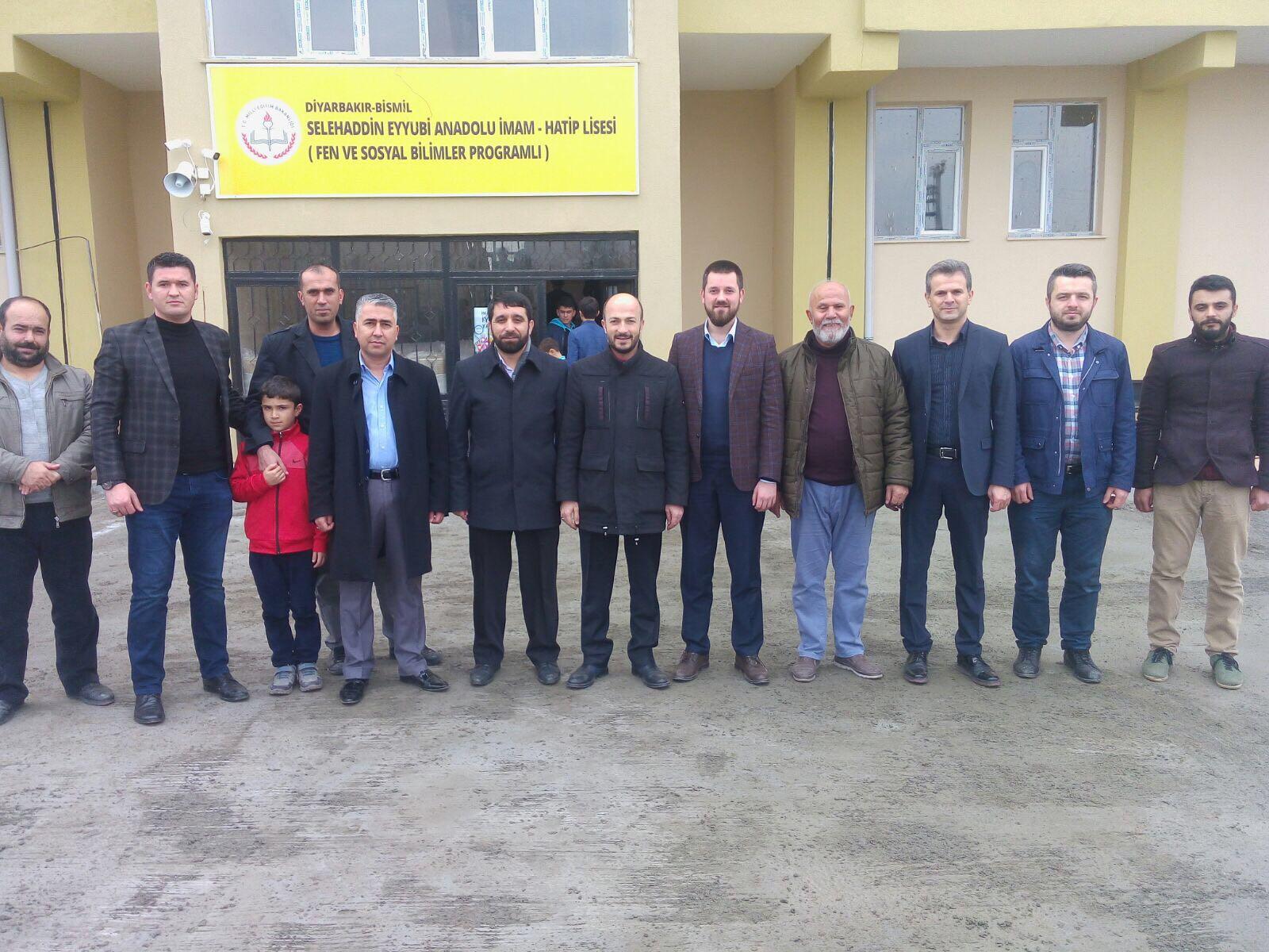 İlim Yayma Cemiyeti Başkan Yardımcısı Gayretli'den Bismil'e Ziyaret