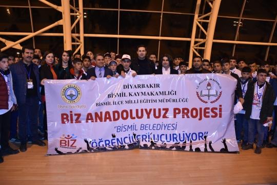 Başkan Gülenç İlk Öğrenci Kafilesini Çanakkale'ye Uğurladı