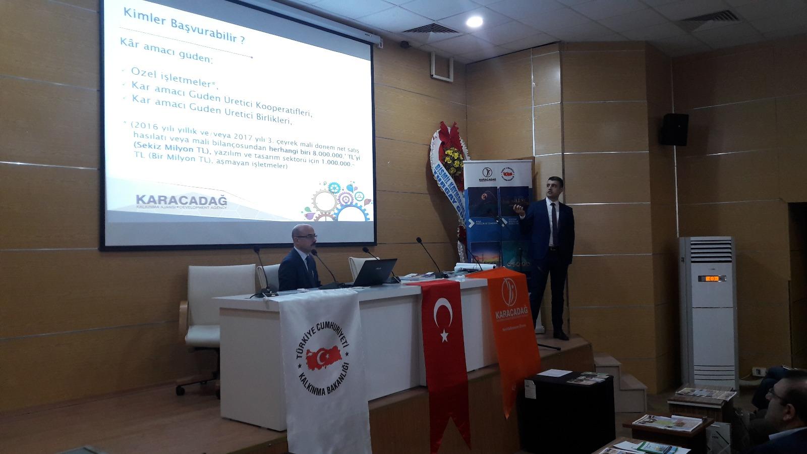 Karacadağ Kalkınma Ajansı Bismil'de Seminer Düzenledi