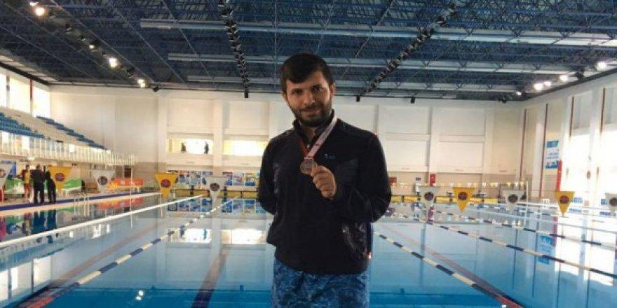 Bismilli Genç Yüzmede Türkiye 3. oldu