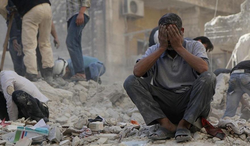 Suriye'de ölenlerin sayısı yarım milyonu geçti