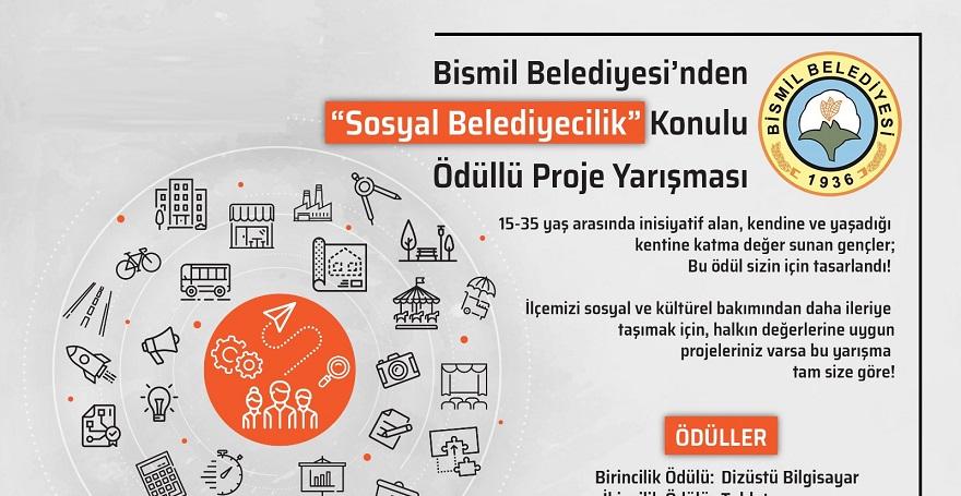Bismil Belediyesinin Ödüllü Yarışma Sonuçları Belli Oldu