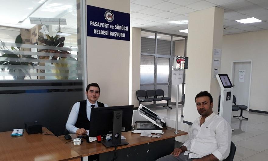 Nüfus müdürlüğünde ehliyet-pasaport yoğunluğu