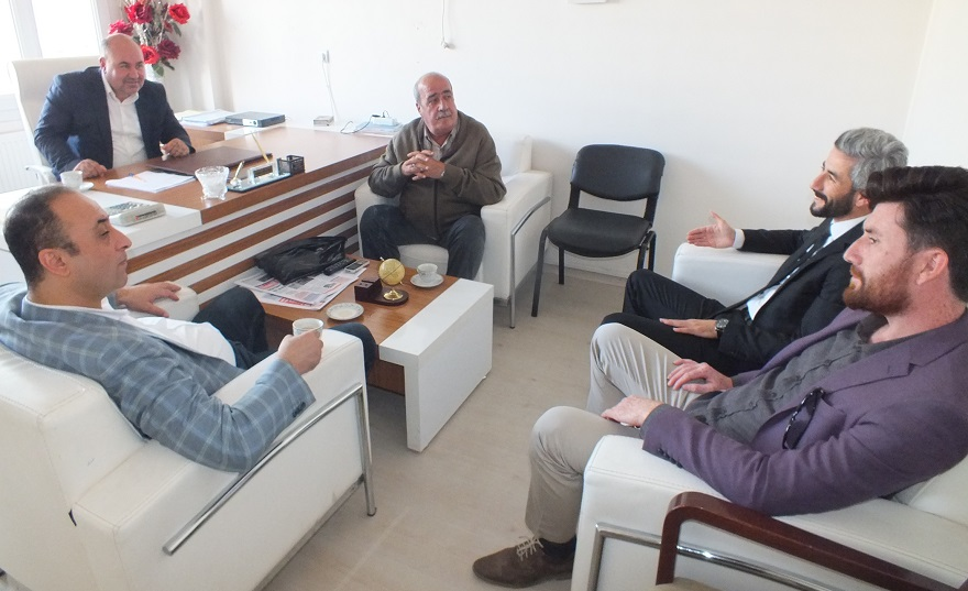 AK Parti aday adayı Güleken gazetemizi ziyaret Etti
