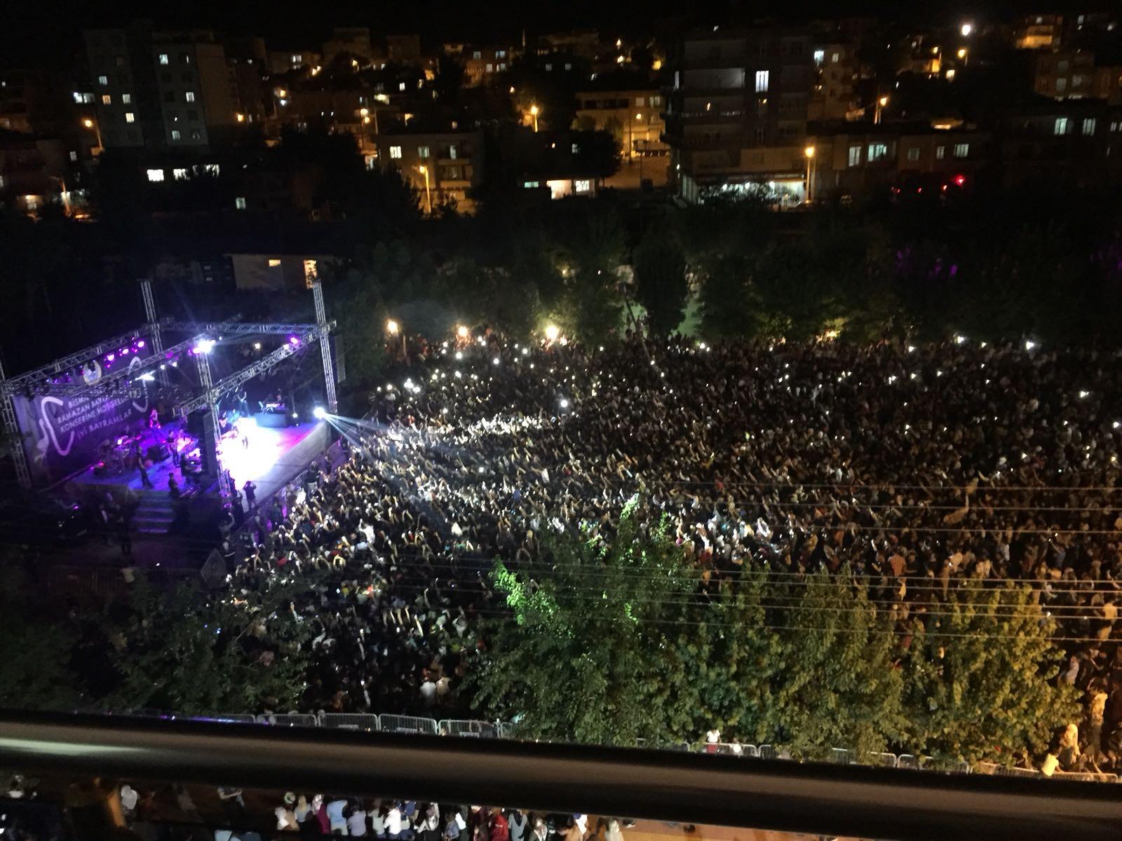 Bismil'de Mustafa Ceceli Konseri