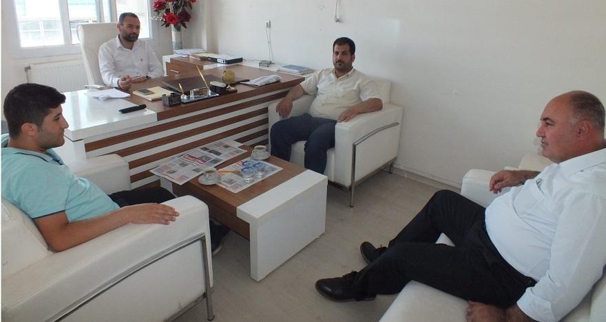 Diyarbakır Bismil Kültür ve Dayanışma Derneği'nden gazetemize ziyaret