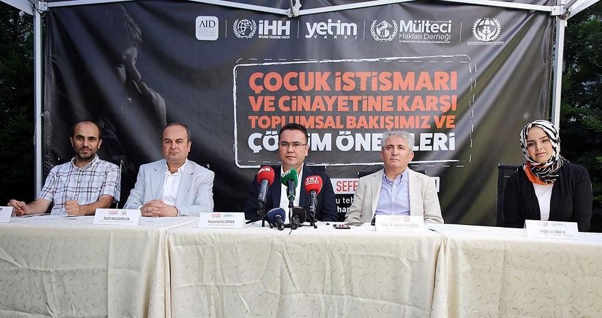 STK'lar Çocuk istismarı ve cinayetine karşı çözüm önerilerini konuştu