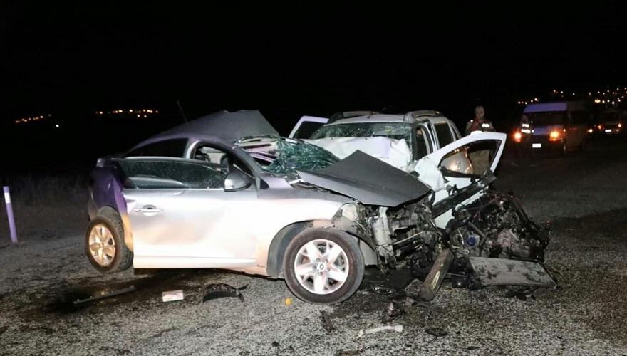 Mıcırlı yolda bir kaza daha: Bir ölü 4 yaralı