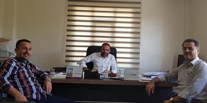 Diyanet-Sen'den Gazetemize Ziyaret