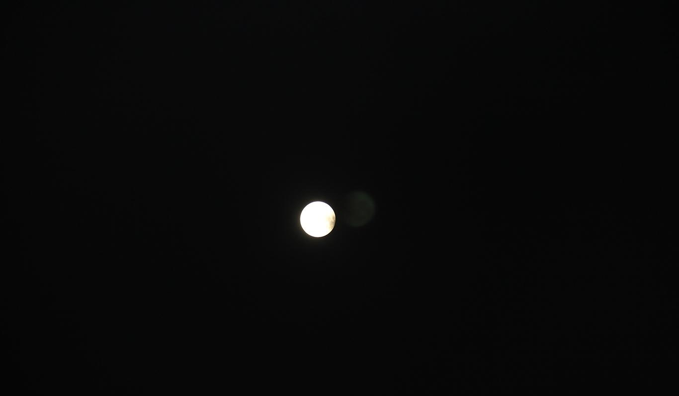 'Kızıl Ay Tutulması' saniye saniye görüntülendi