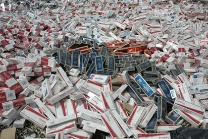 Bismil 62 Bin Paket Kaçak Sigara Ele Geçirildi