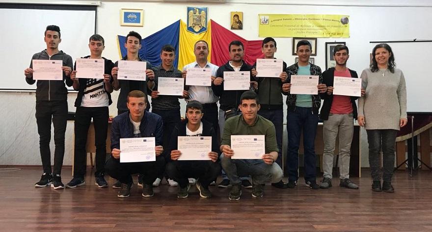 Bismilli Öğrenciler Avrupa da Mesleki Eğitim Staj Çalışmaları