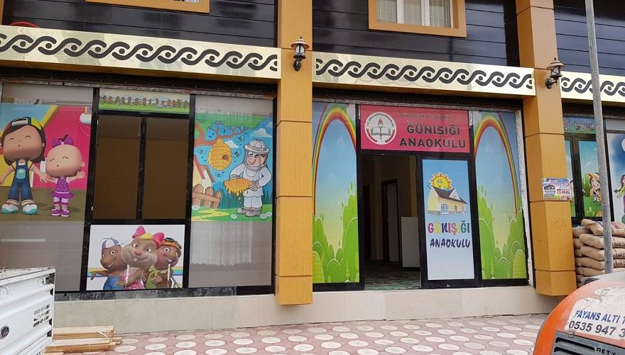 Bismil de ilk ve tek özel anaokulu açıldı.