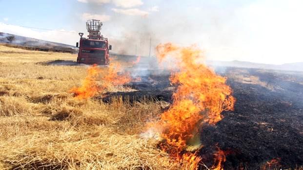 Anız yangınlarıyla halkı zehirleyenler derhal cezalandırılmalı