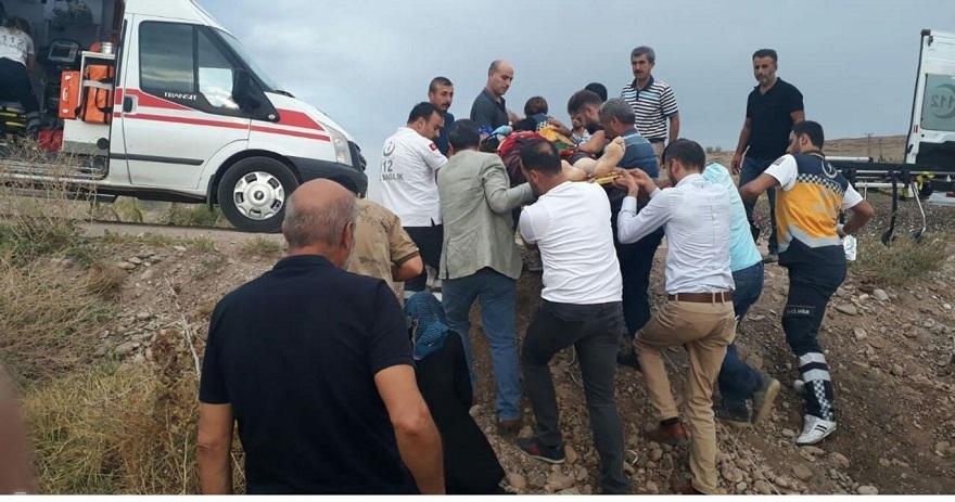 Bismil'de kaza: 1 ölü 2 yaralı