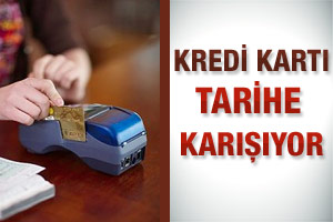 Kredi kartı tarihe karışacak