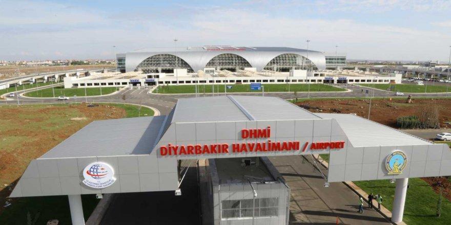 Diyarbakır Havalimanı'nda yolcu trafiğinde artış