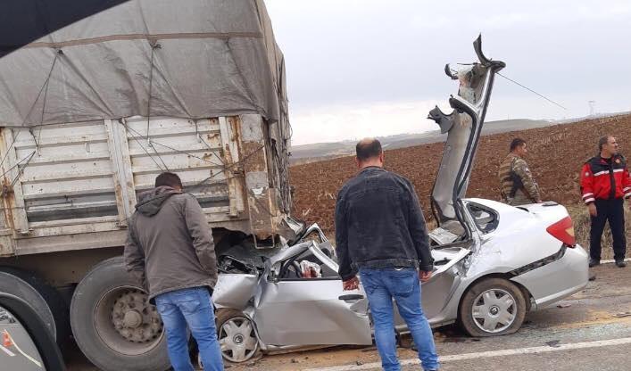 Bismil'de Trafik Kazası 4 Ölü