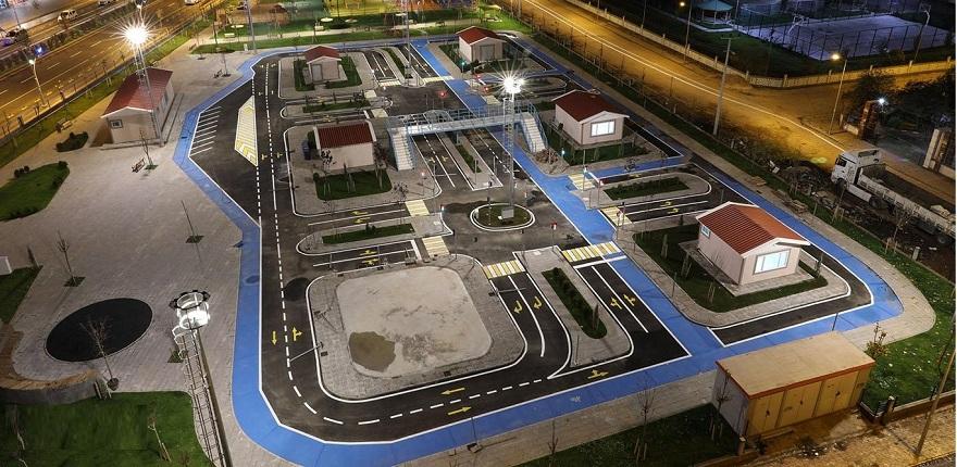 Çocuklar için Trafik Eğitim Parkı açıldı