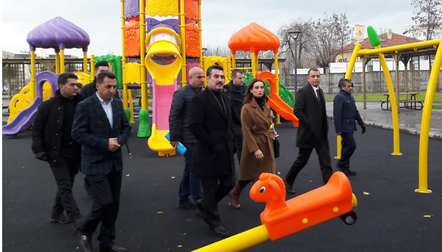 'Kardeşlik Parkı' Hizmete Açılıyor