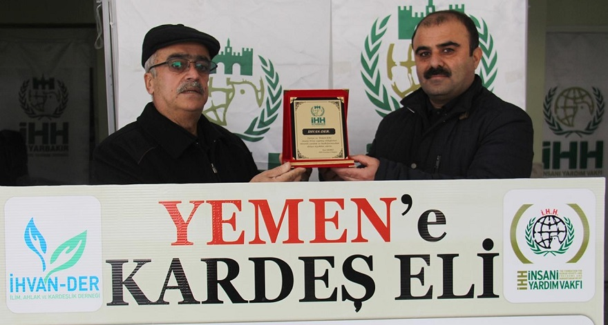 Diyarbakır'dan Yemen'e yardım eli