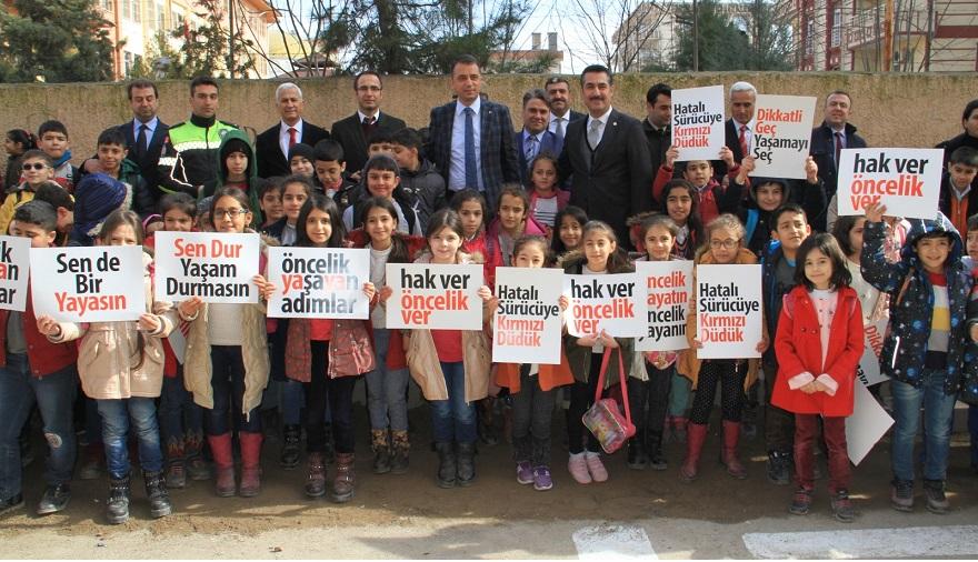 Bismil'de 'Öncelik Hayatın, Öncelik Yayanın' eylemi