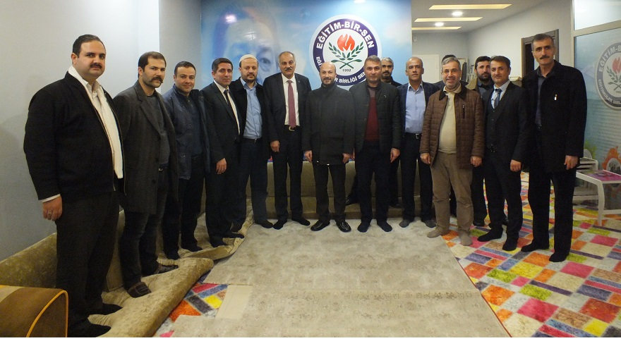 Ak Parti Bismil Belediye Başkan Adayı Arslan'dan ,BİSTK'e Ziyaret