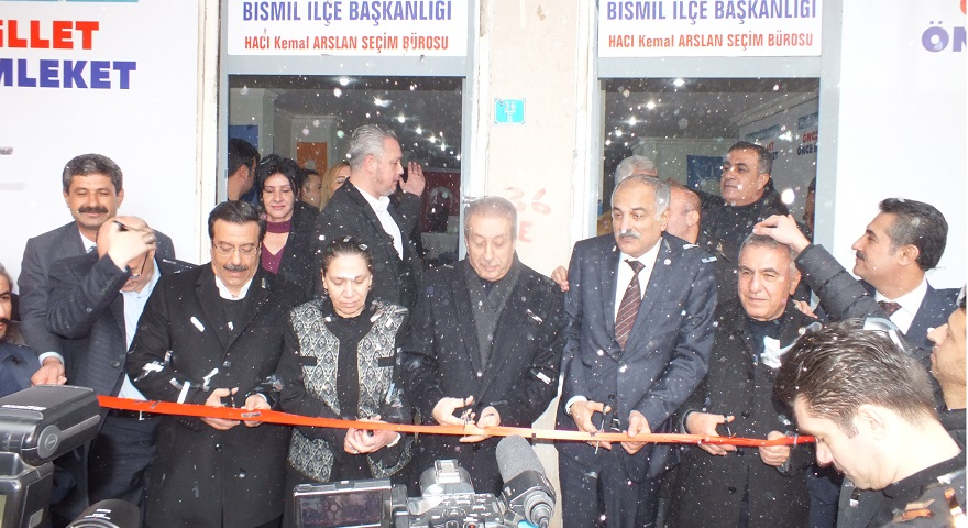 Ak Parti Bismil İlçe Seçim Bürosu Açıldı