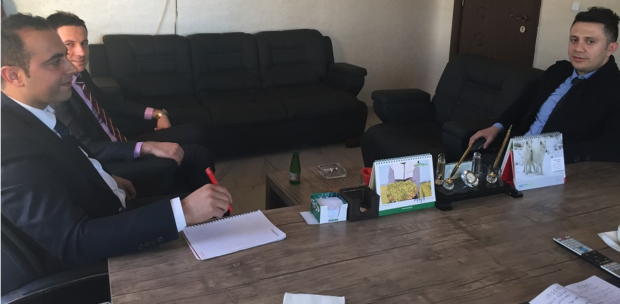 Bismil Ziraat Bankası'ndan Kobi'lere Ziyaret