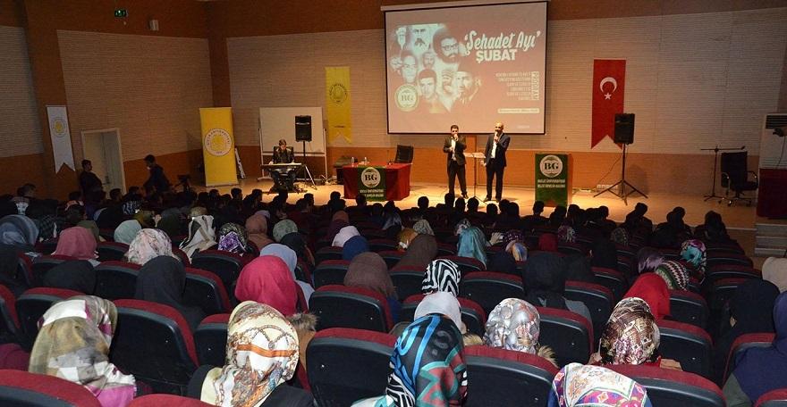 """Bilge Gençlik Kulübü'nden """"Şubat ayı şehadet"""" programı"""