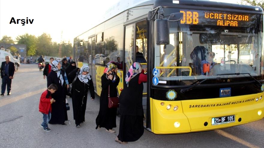 Cumhurbaşkanı Erdoğan'ın mitingi için Bismil'de ücretsiz Servis Kalkacak