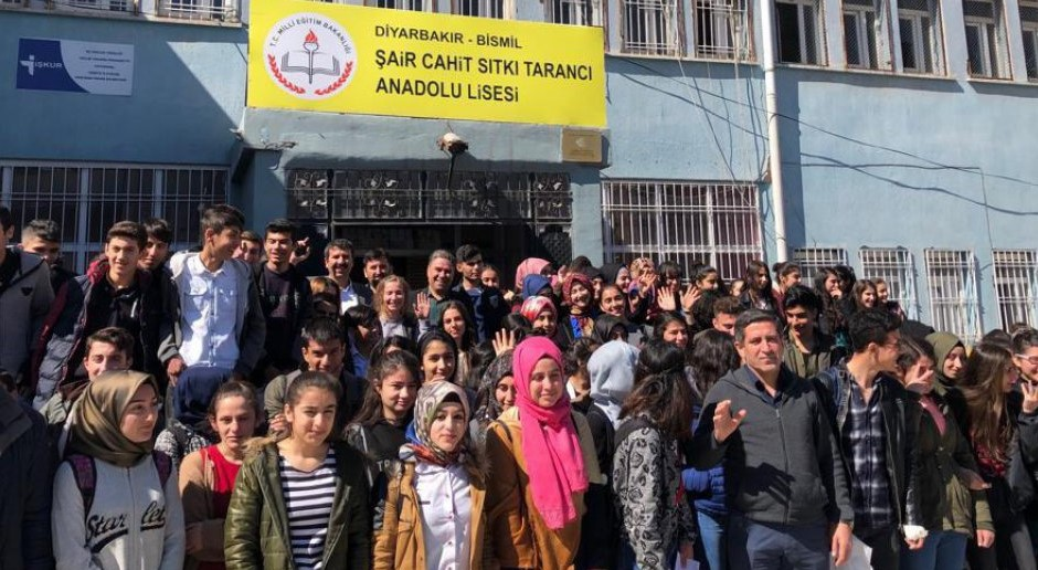 Eğitimde Türkiye'ye Örnek Proje Yine Bismil'den…