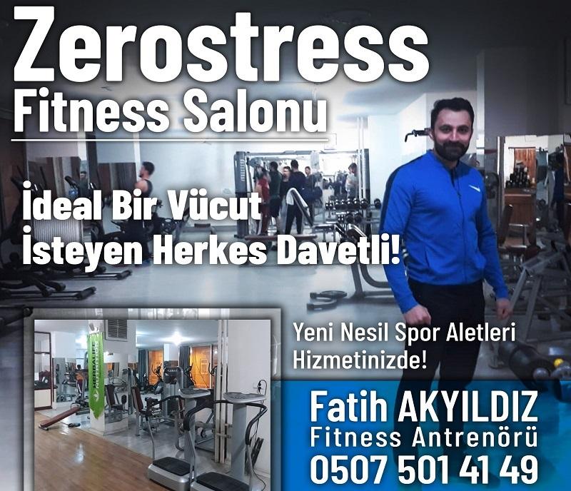 Bismil'deki Zerostress Fitness Salonuna Yoğun İlgi