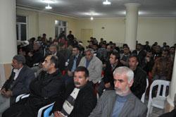 Bismil'de Köylerde halk toplantısı