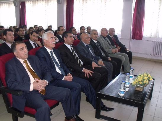 Bismil'de 24 Kasım öğretmenler günü kutlandı.