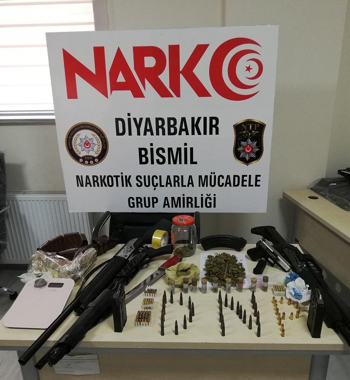 Bismil'de Uyuşturucu Operasyonu:9 Gözaltı