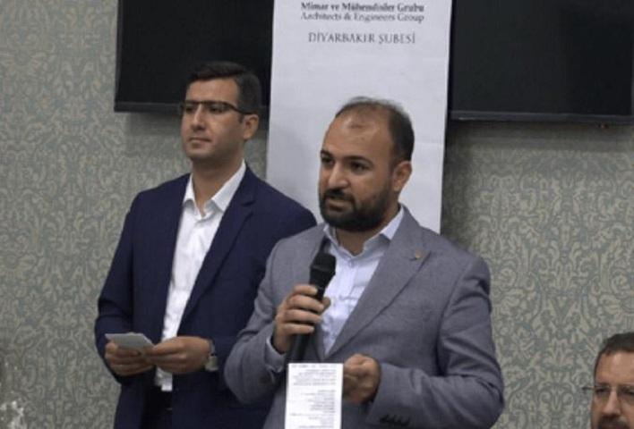 Diyarbakır'da mimar ve mühendisler grubu iftarda buluştu