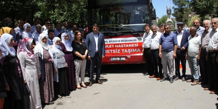 Bismil'de Ücretsiz Hastane Servisi Tekrar Başladı