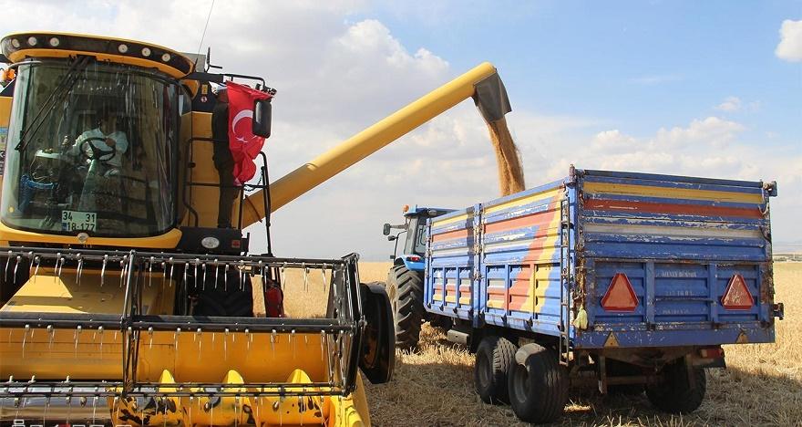 """""""1,5 milyon ton buğday hasadı gerçekleştirmeyi hedefliyoruz"""""""