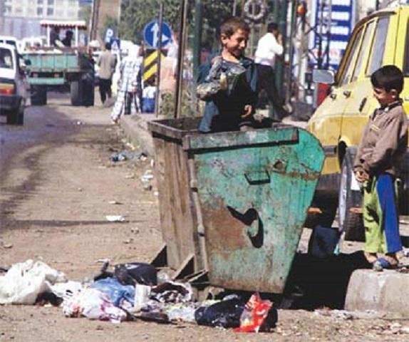 Sokakta çalıştırılan çocuk büyük risk altında