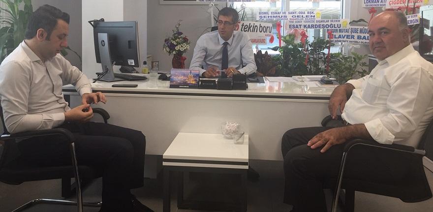 T.Halk Bankası Bismil Şube Müdürü Karaaslan, Görevine Başladı