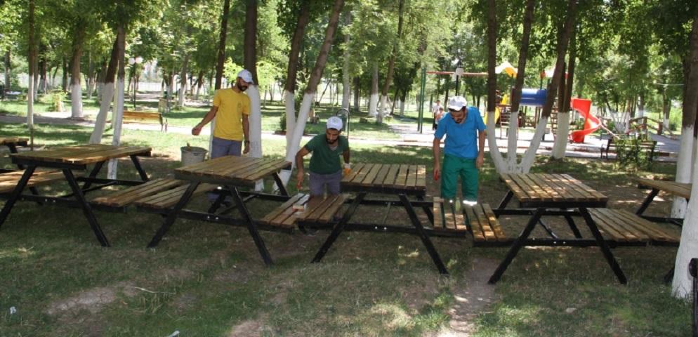 Belediyeden Park ve Bahçe Bakımı