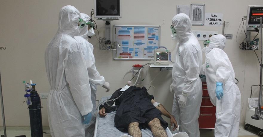 Bismil Devlet Hastanesinde Tatbikat Heyecanı