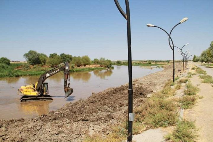Dicle Nehir Yatağında Islah Çalışması